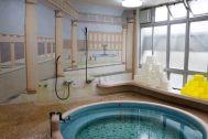 HOMEIKAN 森川別館/旅館 (ホウメイカン):タイルのお風呂(ローマ風呂)
