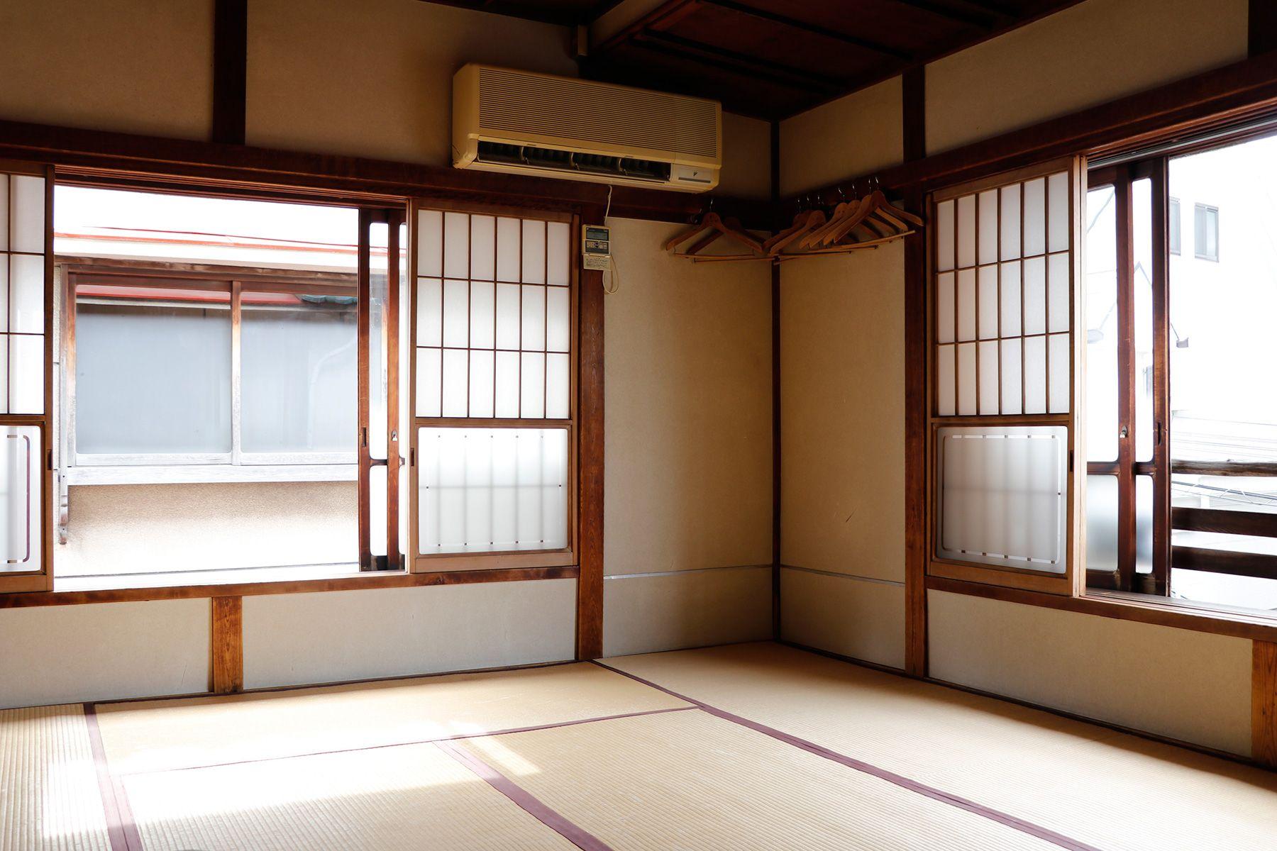 HOMEIKAN 森川別館/旅館 (ホウメイカン)富士(10畳)窓は南と西2面