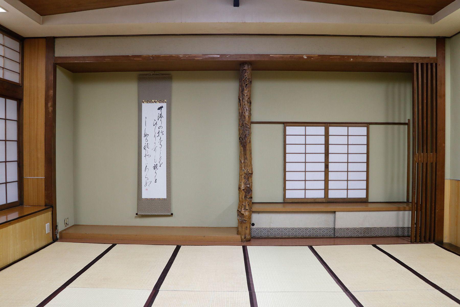 HOMEIKAN 森川別館/旅館 (ホウメイカン)大広間 57畳 3つの空間に仕切り可能