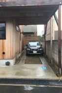 鎌高サーフハウス/個人宅:駐車場 乗用車2台