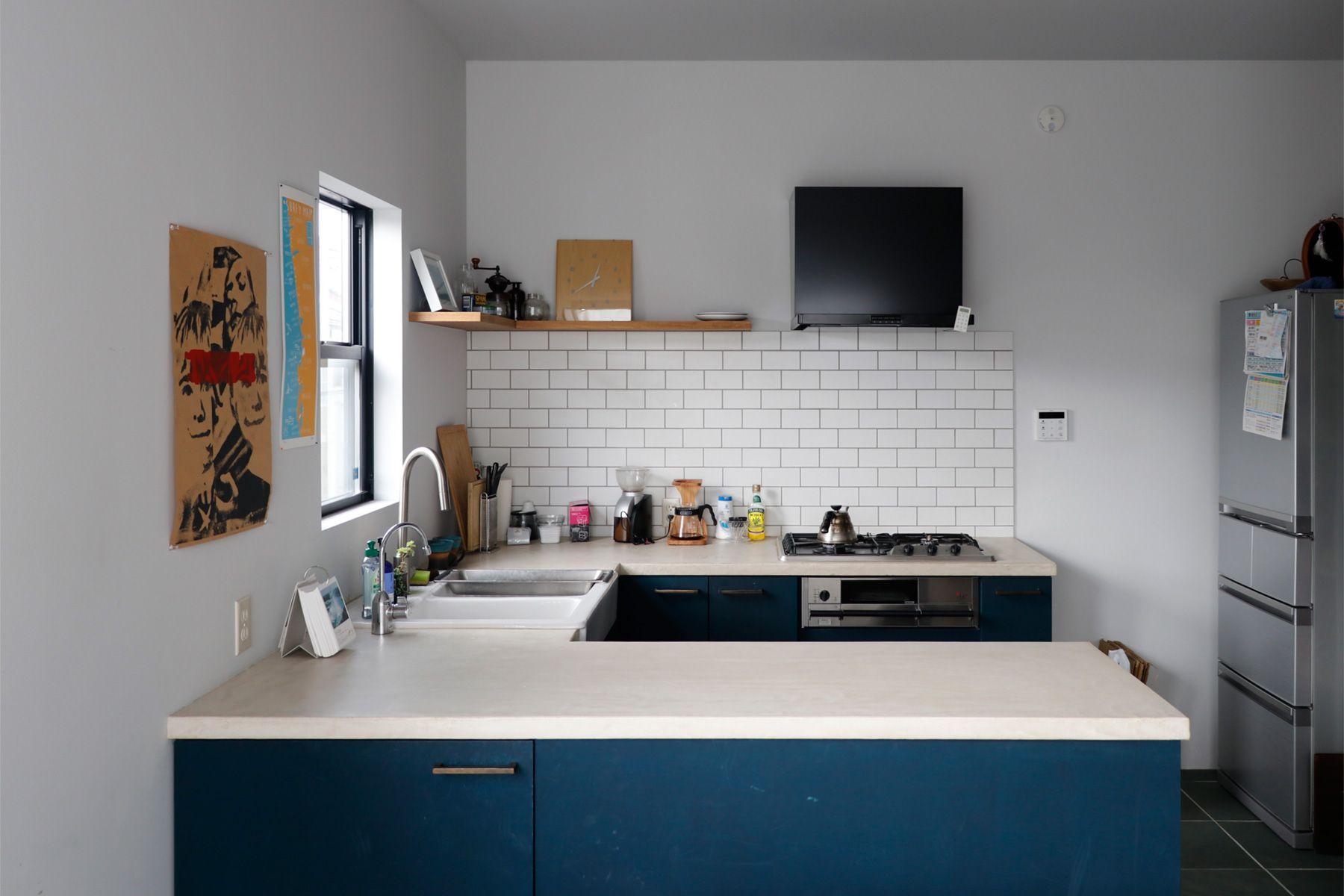 鎌高サーフハウス/個人宅2F キッチン