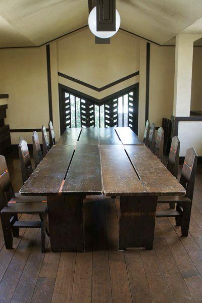 自由学園明日館(重要文化財)食堂