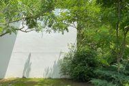 studio ogawasanchi スタジオ 小川さん家:上空写真 現在は芝生