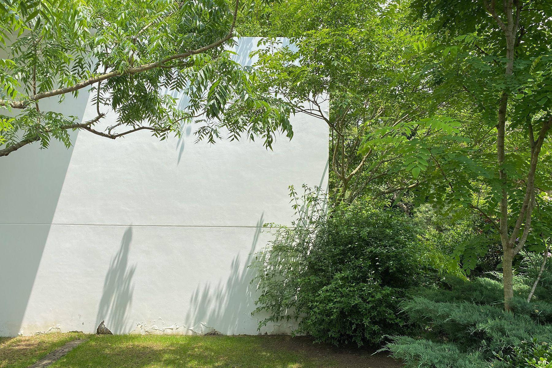 studio ogawasanchi スタジオ 小川さん家上空写真 現在は芝生