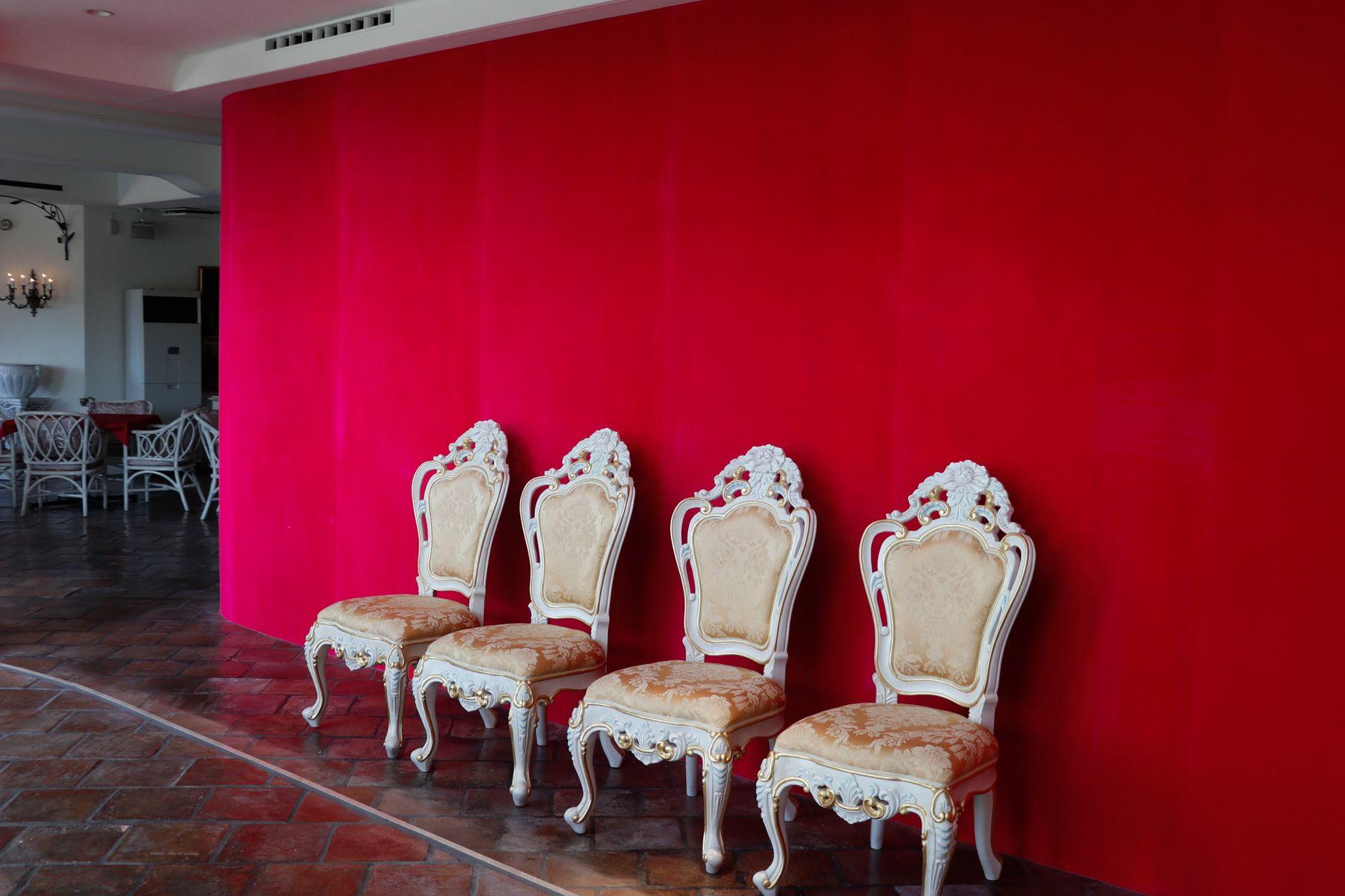 sun studio デルフィオーレ八王子色壁
