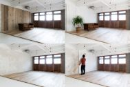 Studio Serato 笹塚 (スタジオセラート笹塚):入替可能な壁パネル