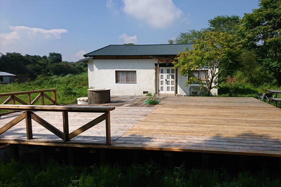 グリーンゲーブル富士ヶ嶺 (グリーンゲーブルフジガネ)平屋とウッドデッキ