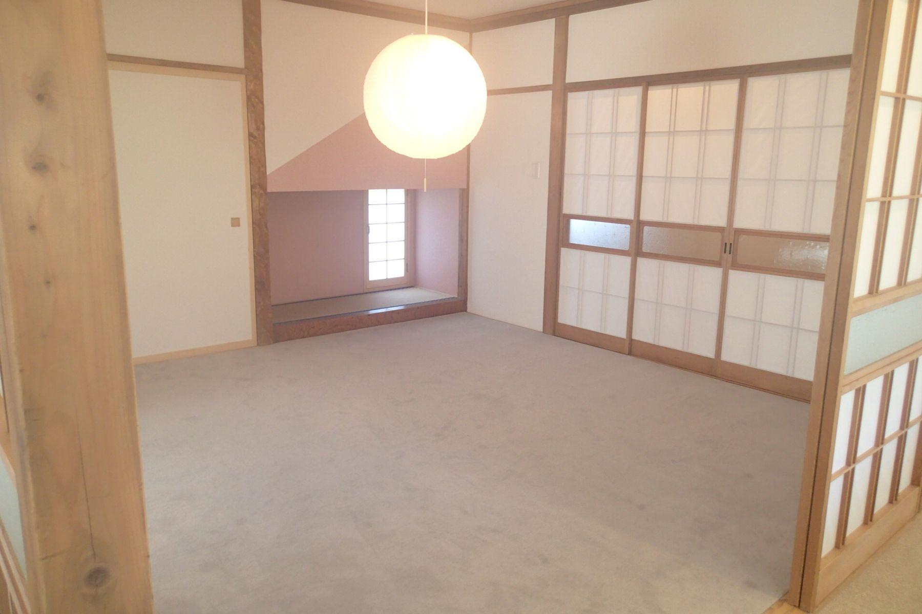 グリーンゲーブル富士ヶ嶺 (グリーンゲーブルフジガネ)室内 襖を閉めると個室