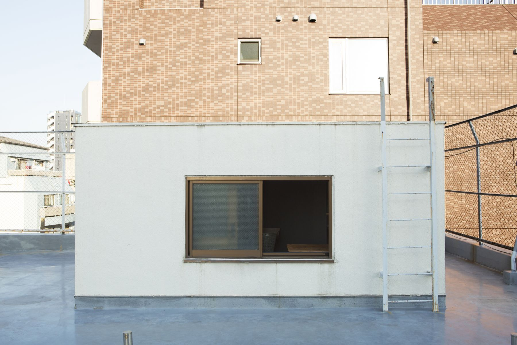 studio ConTRail (スタジオ コントレイル)階段 階段下の休憩スペース