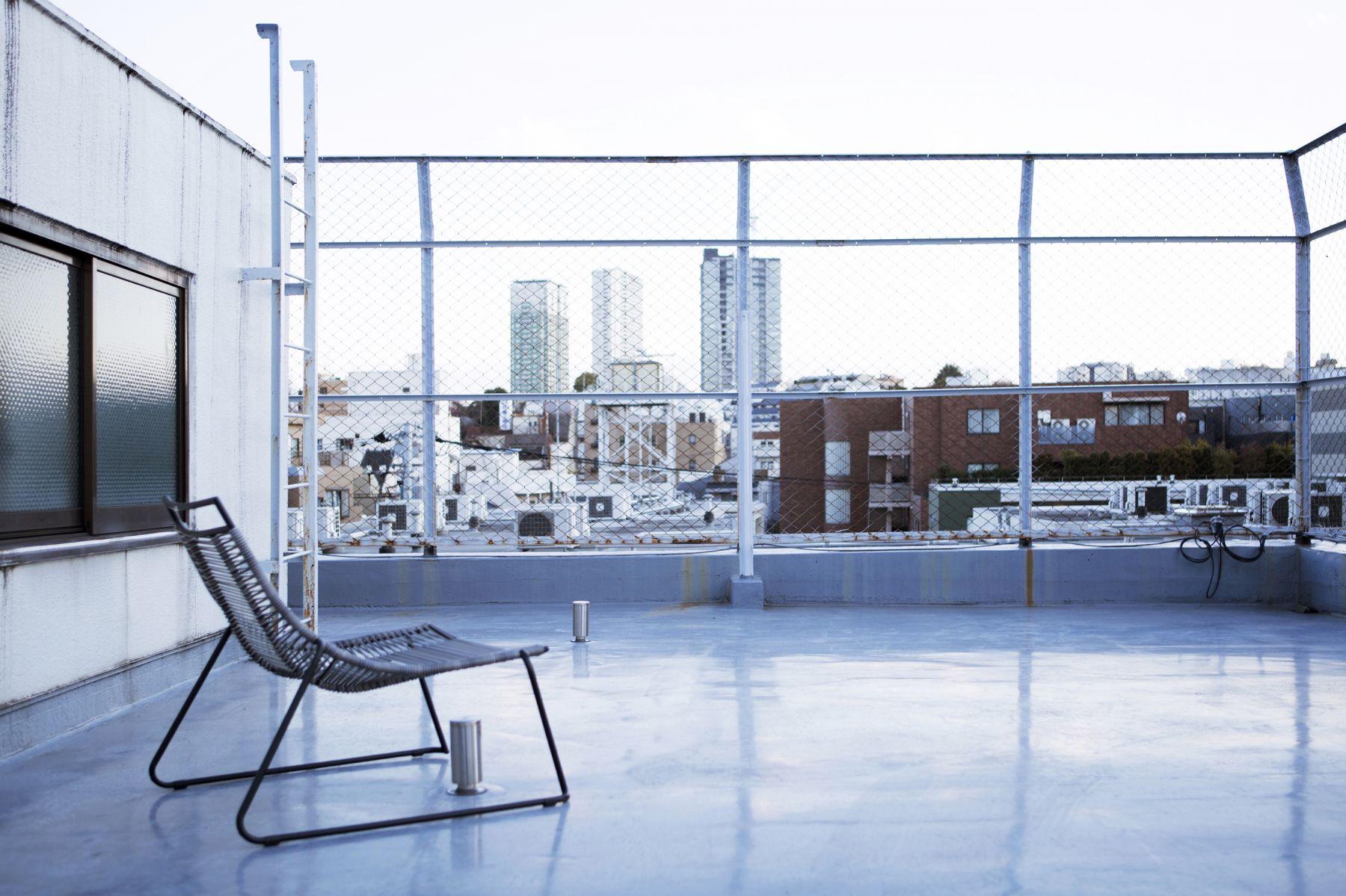 studio ConTRail (スタジオ コントレイル)屋上 白金の街並み