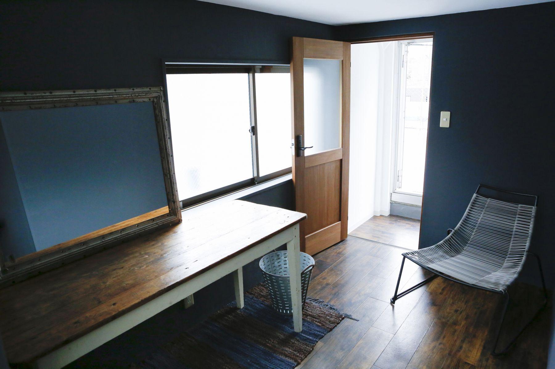 studio ConTRail (スタジオ コントレイル)屋上 メイクルームの撮影可