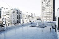 studio ConTRail (スタジオ コントレイル):屋上 扉側