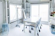 studio ConTRail (スタジオ コントレイル):白壁(可動式)