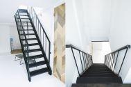 studio ConTRail (スタジオ コントレイル):屋上への階段
