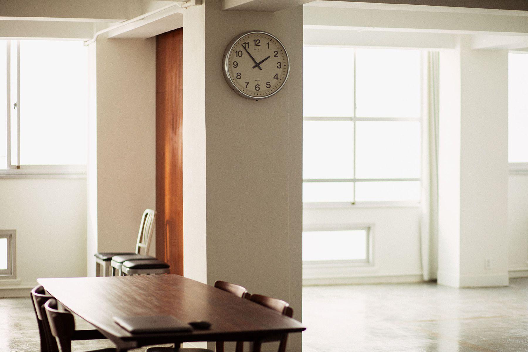 Clock Studio (クロックスタジオ)カーテンで遮光も可能です