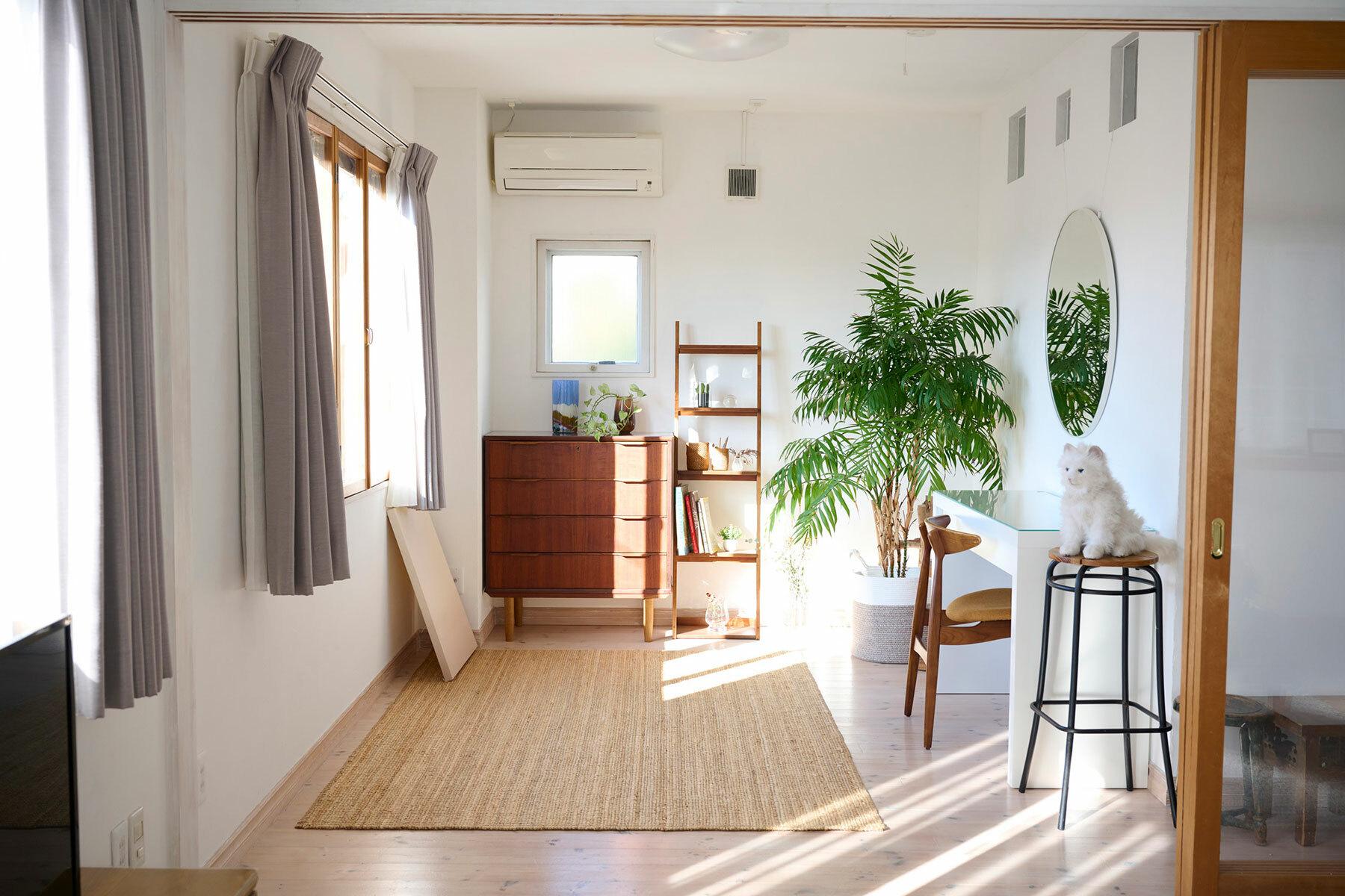 STUDIOFOGLIA HOME(3st)ベッドをリビングに移動