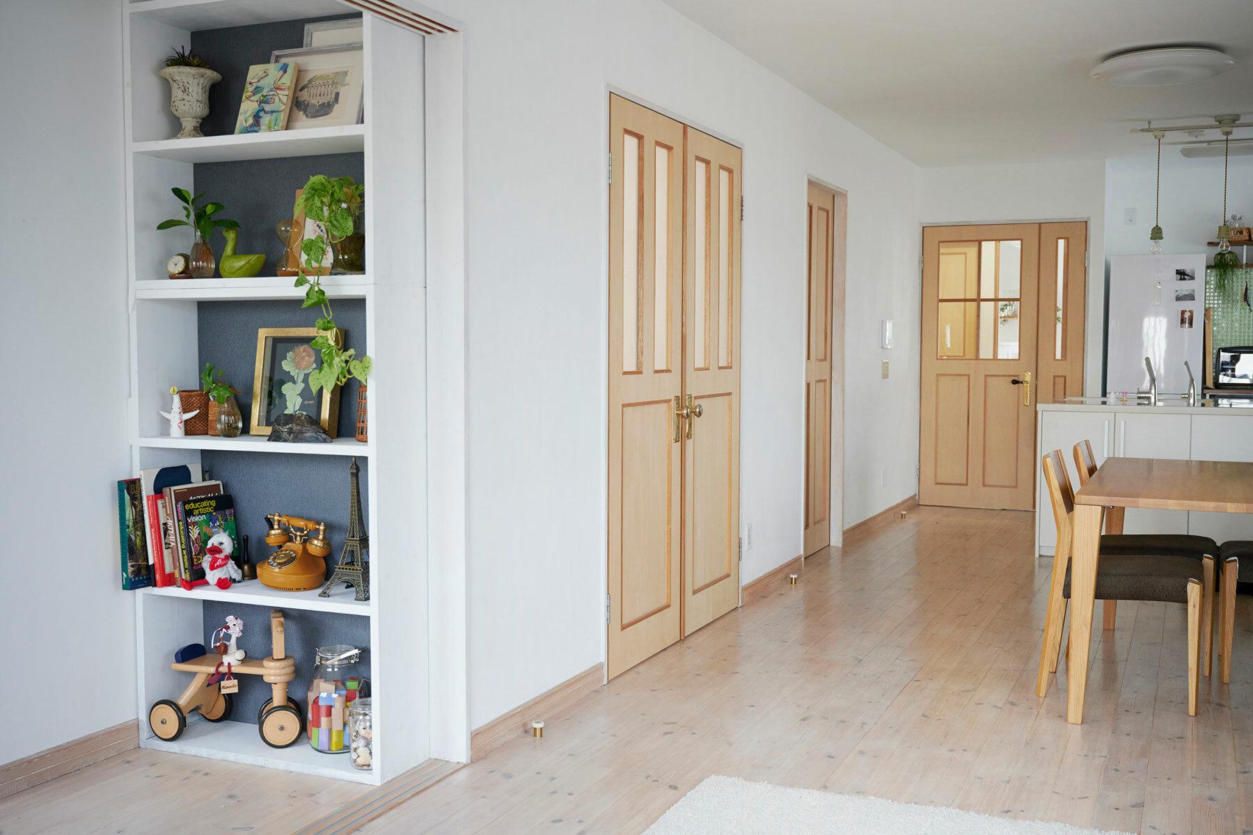 STUDIOFOGLIA HOME(3st)大きな鏡の洗面台