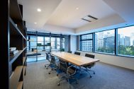 エコスマートファイヤー 大阪ショールーム:オフィス空間演出も可能