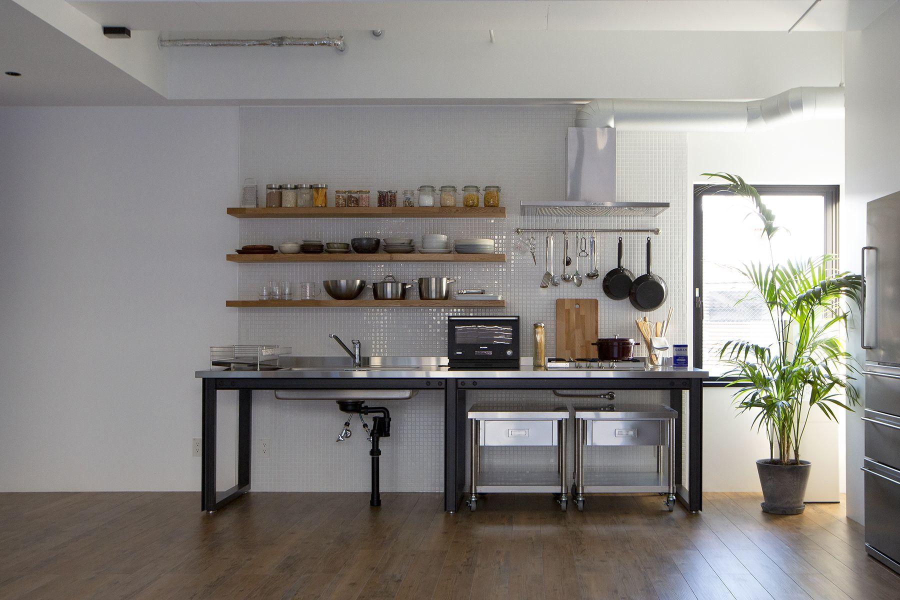 OPRCT Space P (オプレクト)キッチン / 大きなダイニングテーブ�