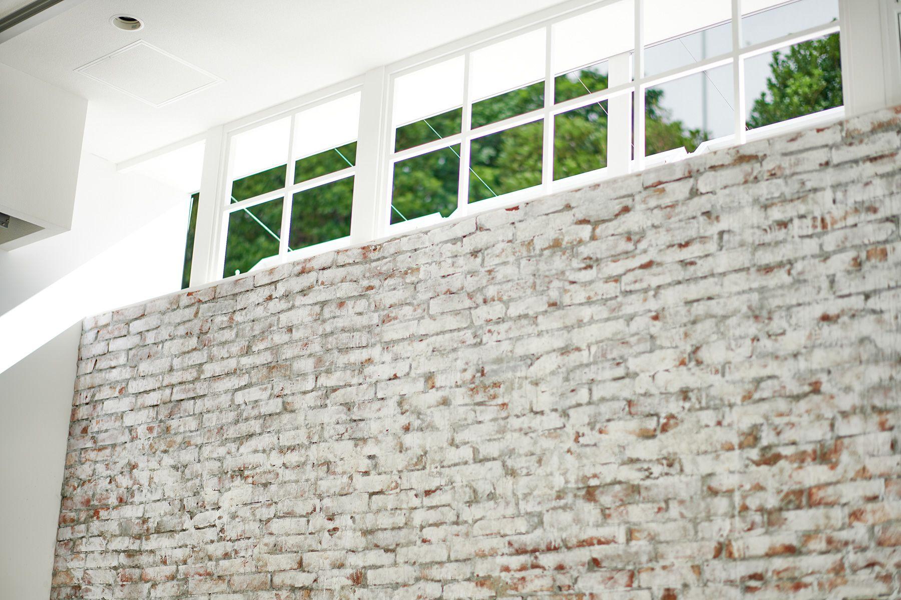 WHITE BALANCE (ホワイトバランス)サイド上部の窓から自然光