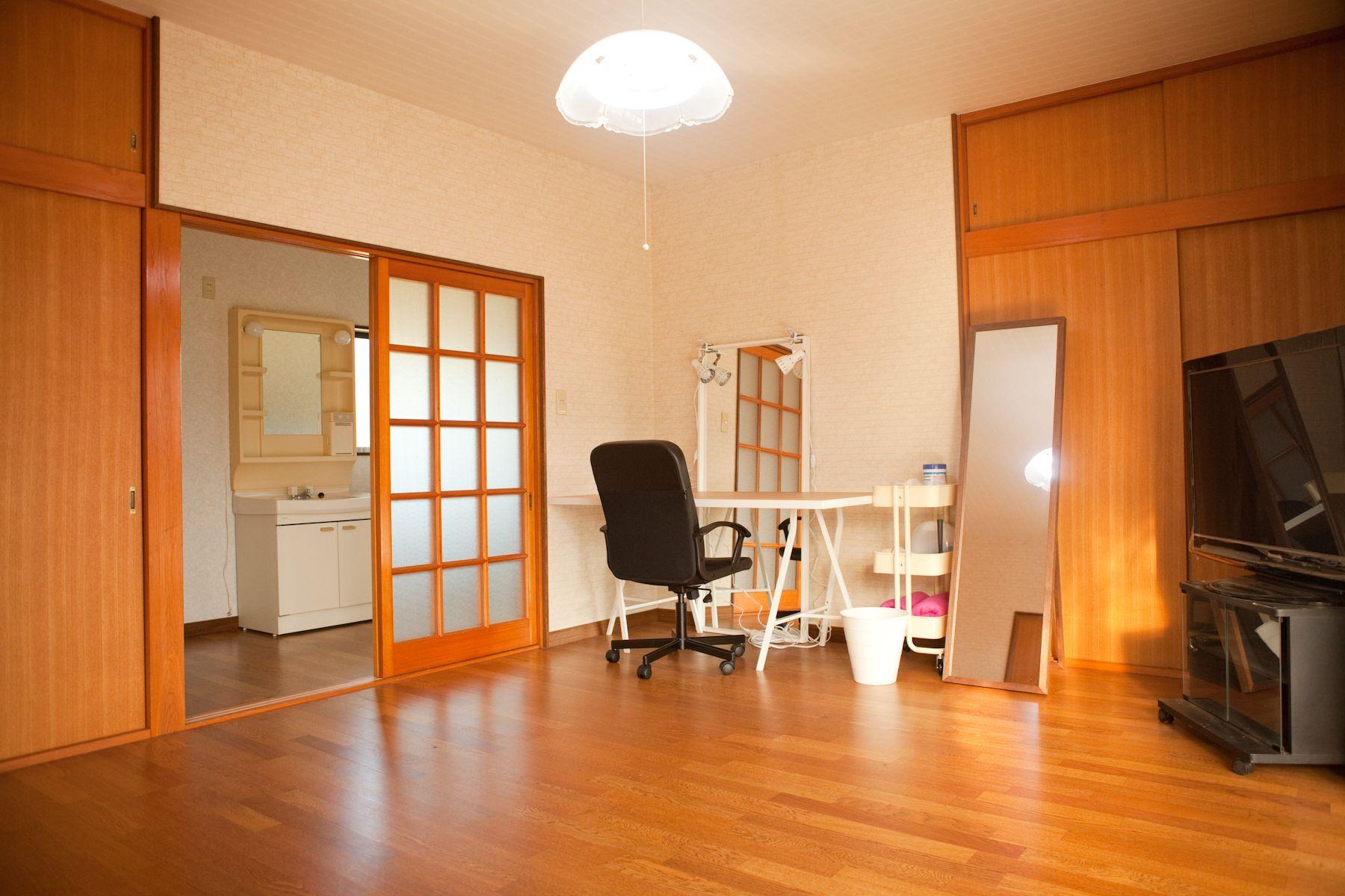 studio Licorne いすみの家メイクルーム