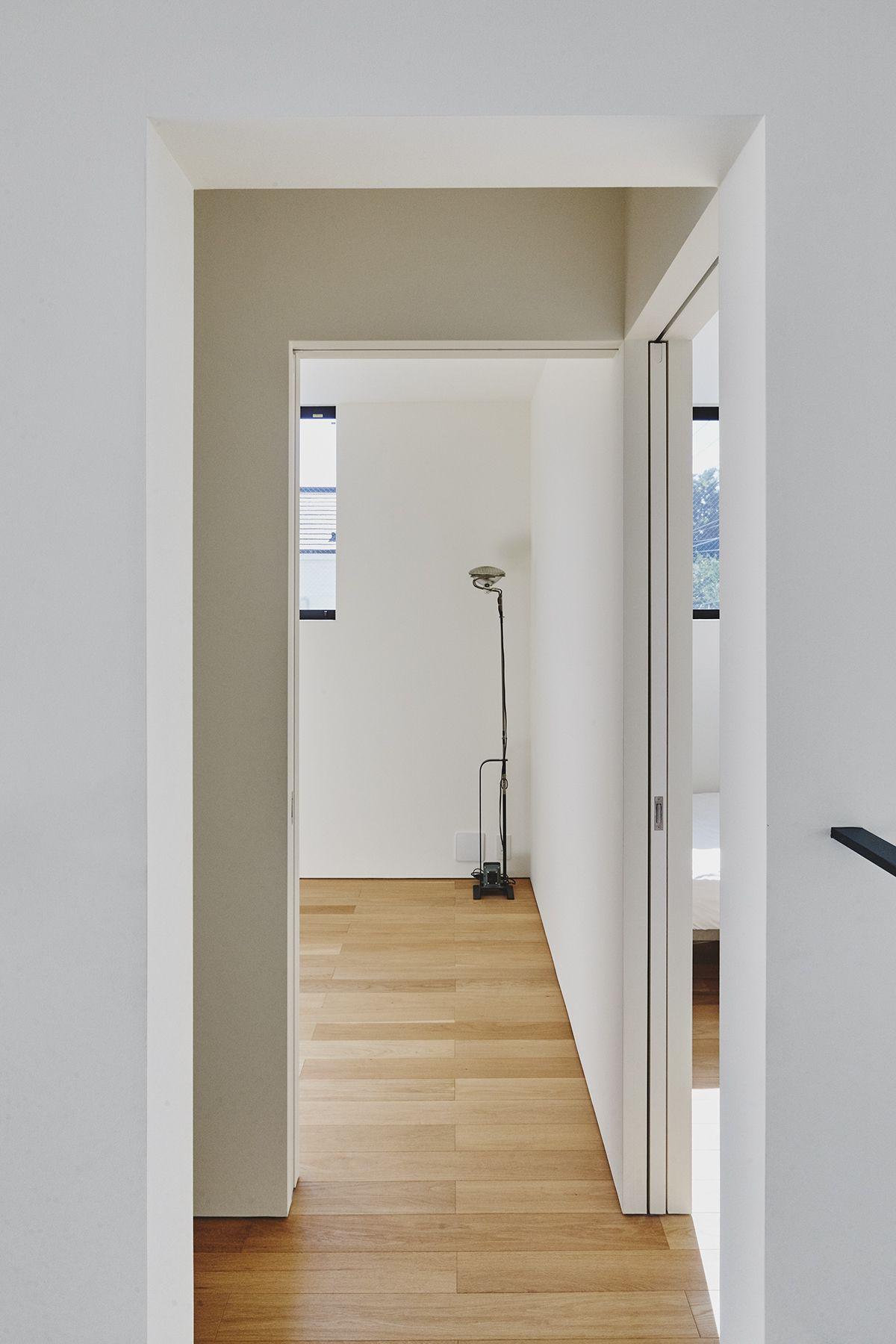 桜新町の家/個人宅 (サクラシンマチノイエ)3F 廊下