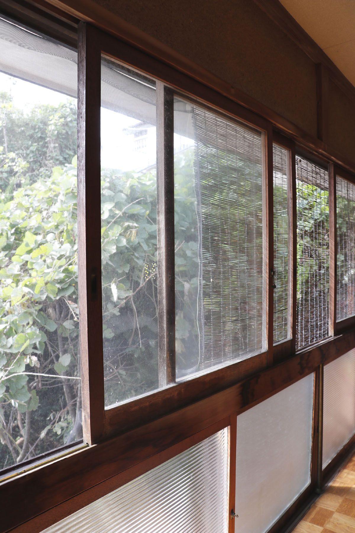 なつのじ(個人宅)2F 南面窓