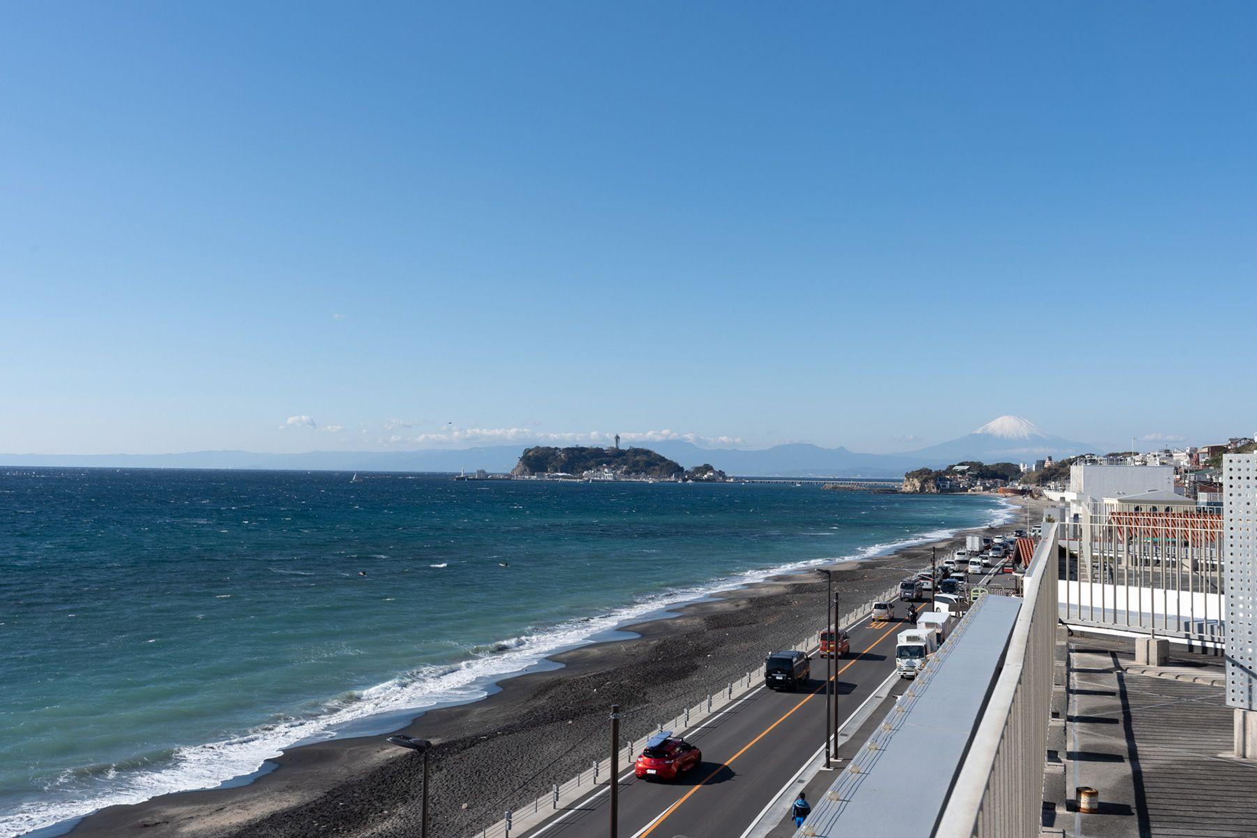 湘南撮影スタジオ (ショウナンサツエイスタジオ)江ノ島・富士山が見える