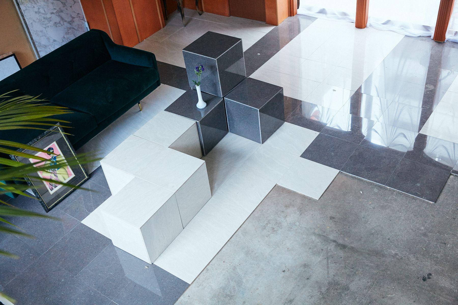 UC1F 大理石BOXは可動式