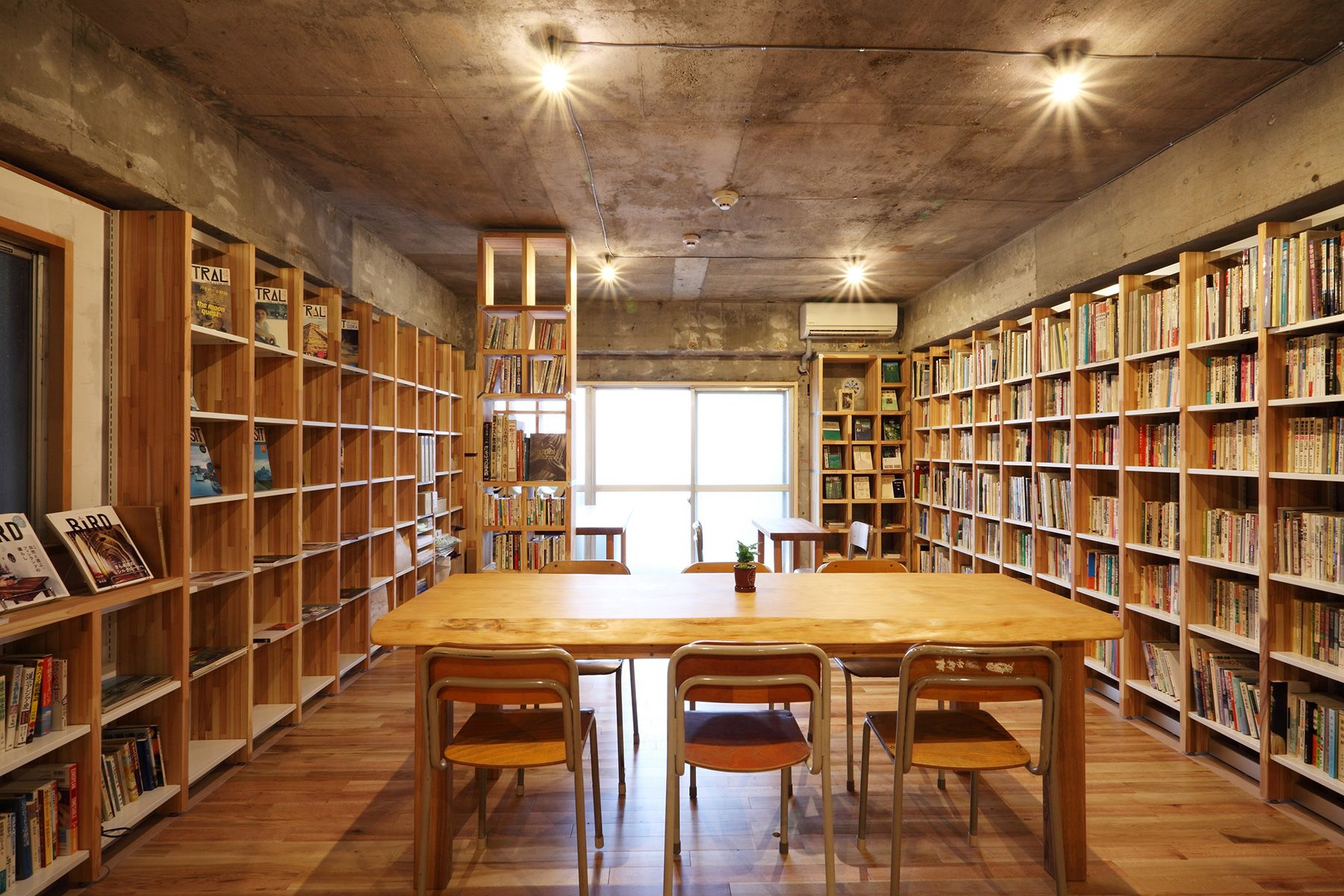 KAIDO books&coffee (カイドブックスアンドコーヒー)2F 明るいのは午前中
