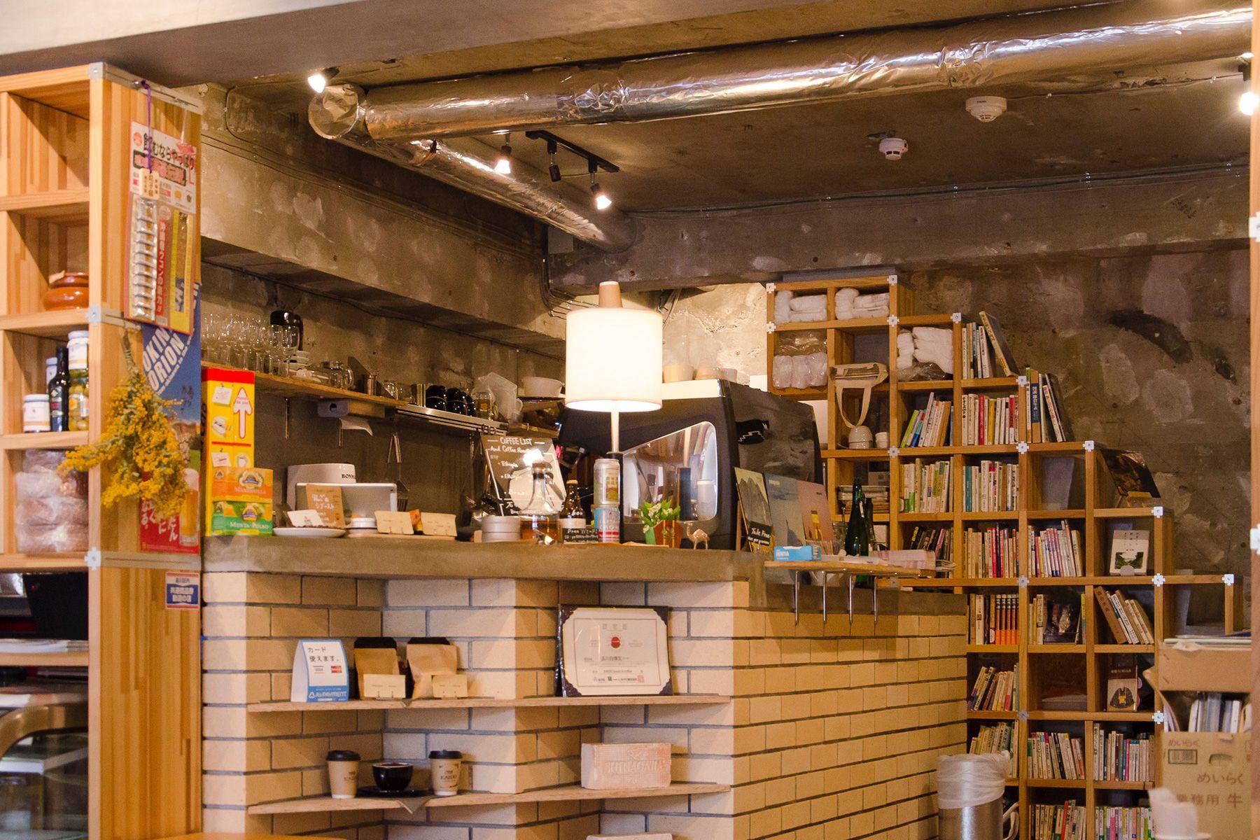 KAIDO books&coffee (カイドブックスアンドコーヒー)1F キッチン