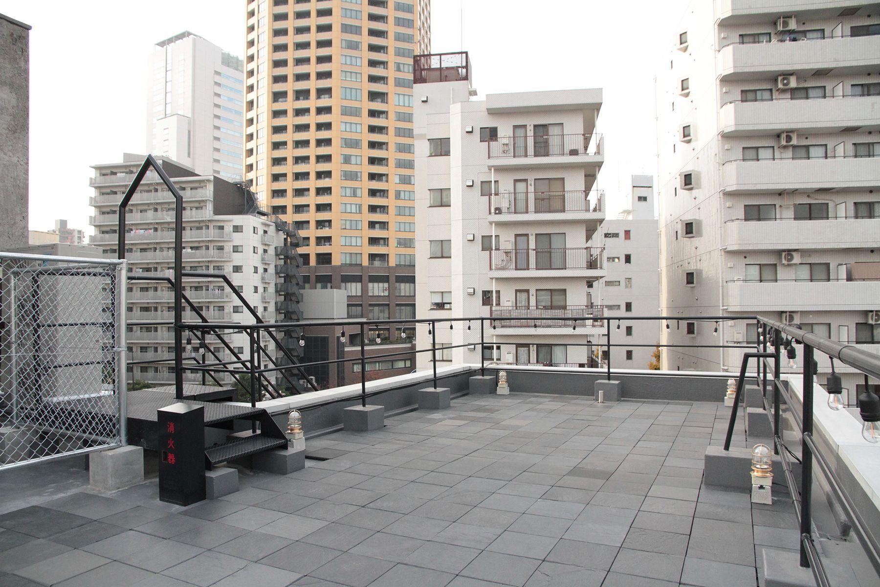 ROJU NAKAMEGURO ロジュ ナカメグロoption:屋上