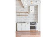 ACCA STUDIO (アッカスタジオ):3F/Cst タイル壁のキッチン