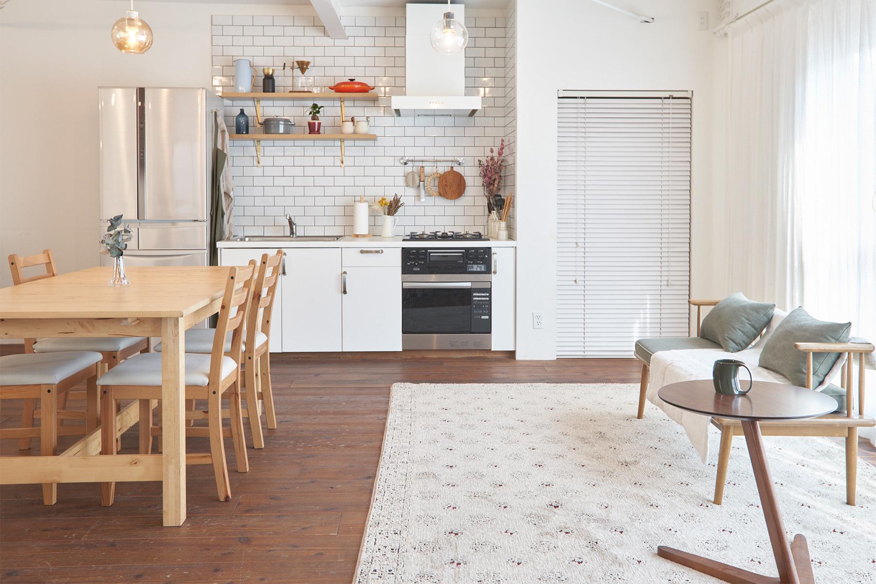ACCA STUDIO (アッカスタジオ)3F/Cst キッチンの背景を変更して