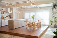 ACCA STUDIO (アッカスタジオ):3F/Cst 可動式のキッチン