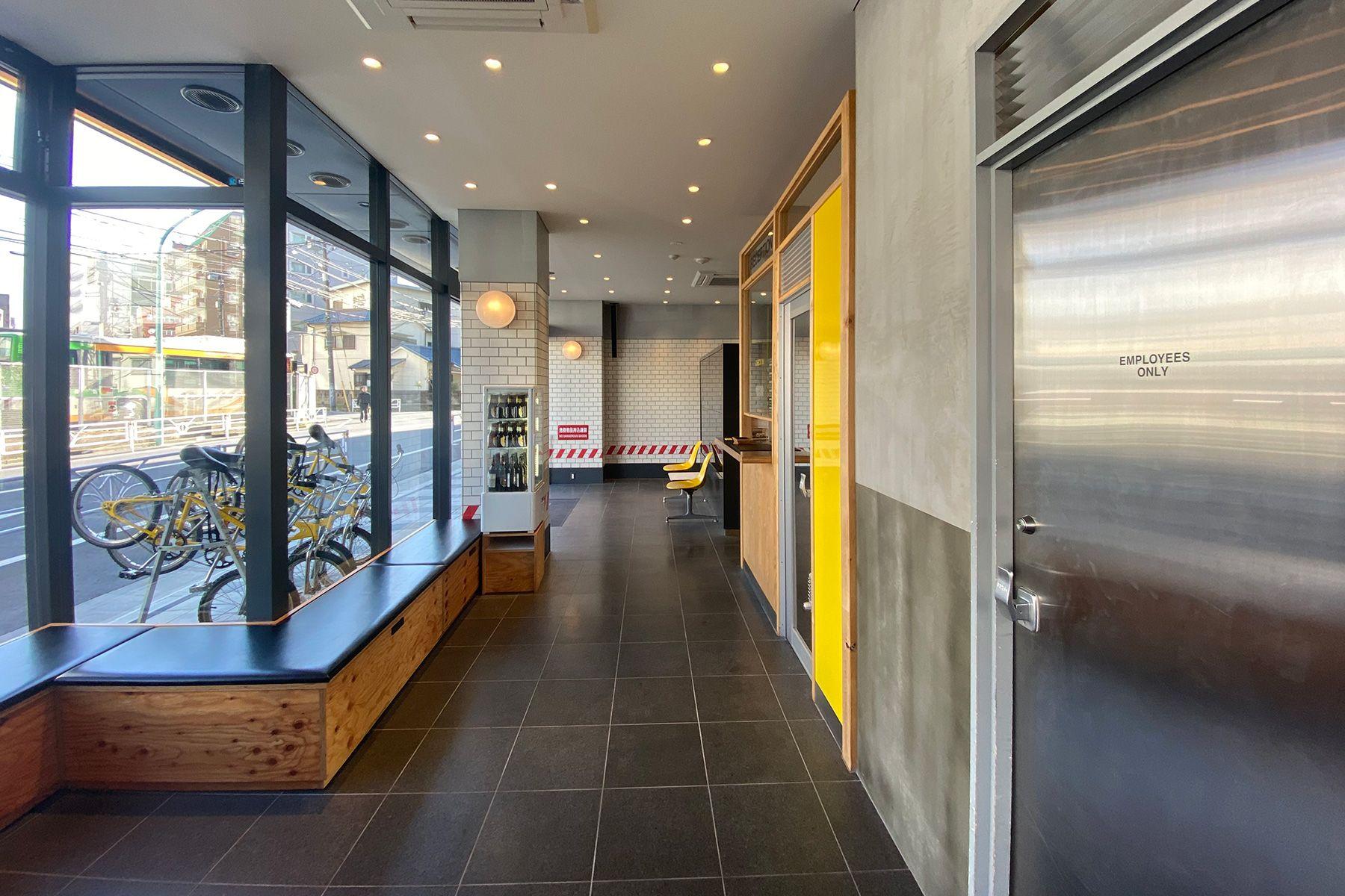MUSTARD™️ HOTEL SHIBUYA (マスタードホテル シブヤ)1F 共用スペース