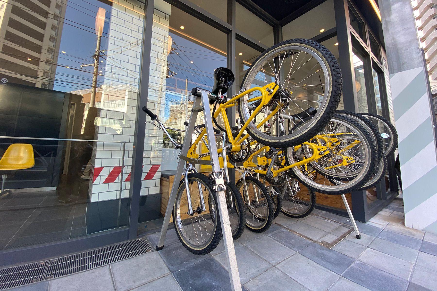 MUSTARD™️ HOTEL SHIBUYA (マスタードホテル シブヤ)自転車 貸出可能