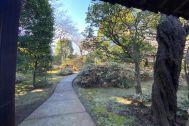 THE SALON 上用賀名主邸 (ザ サロン 上用賀名主邸):庭のアプローチ