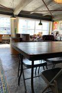 旧海岸第四スタジオ:アクセントのある天井