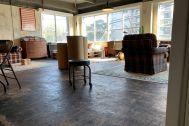 旧海岸第四スタジオ:仕切りのない1フロア