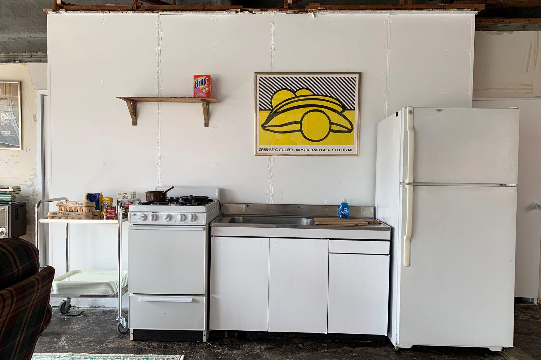 旧海岸第四スタジオミニマムキッチン