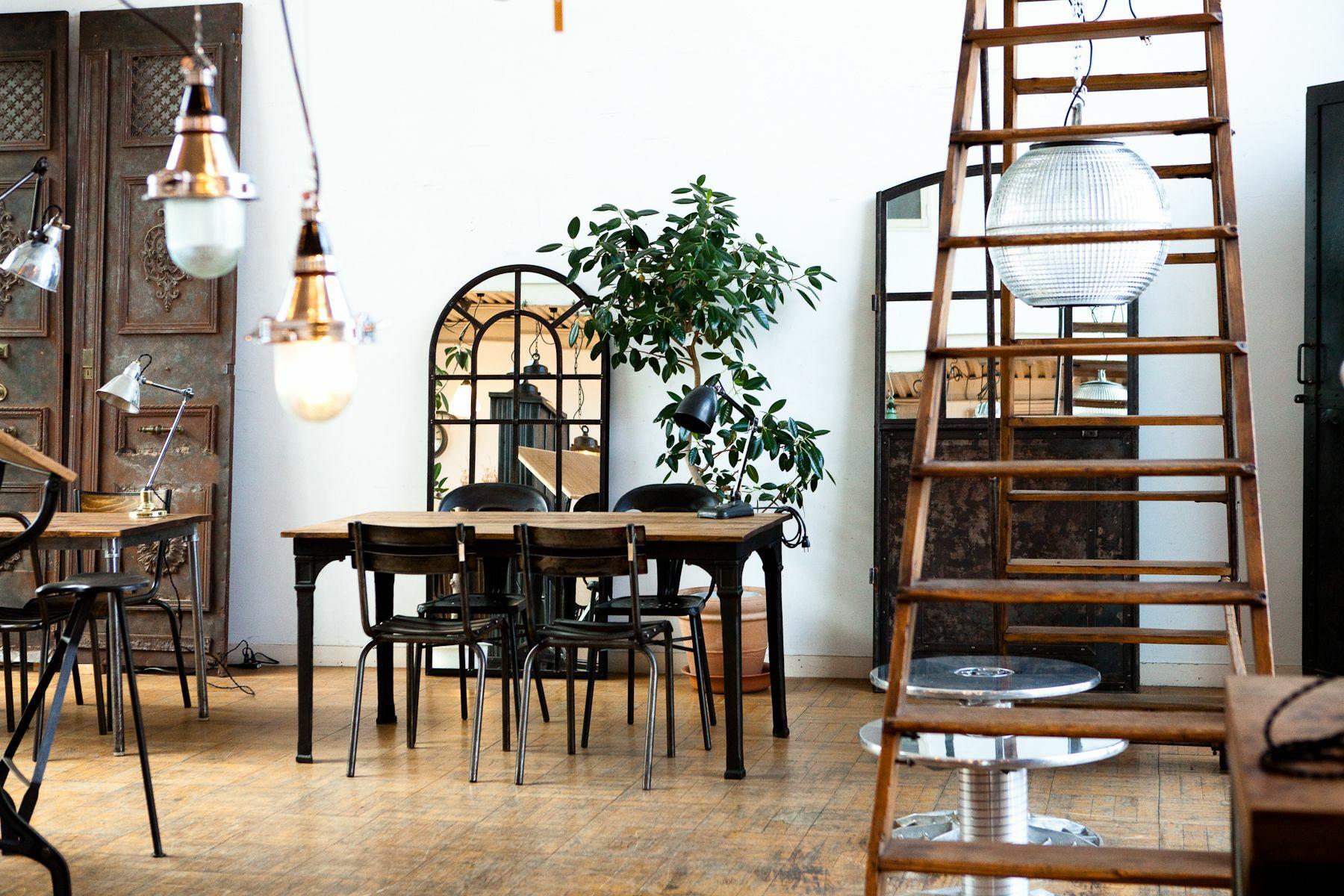 世田谷Atelier(アトリエ)-Studio Licorneマネージメントスペース-家具展示スペース-9