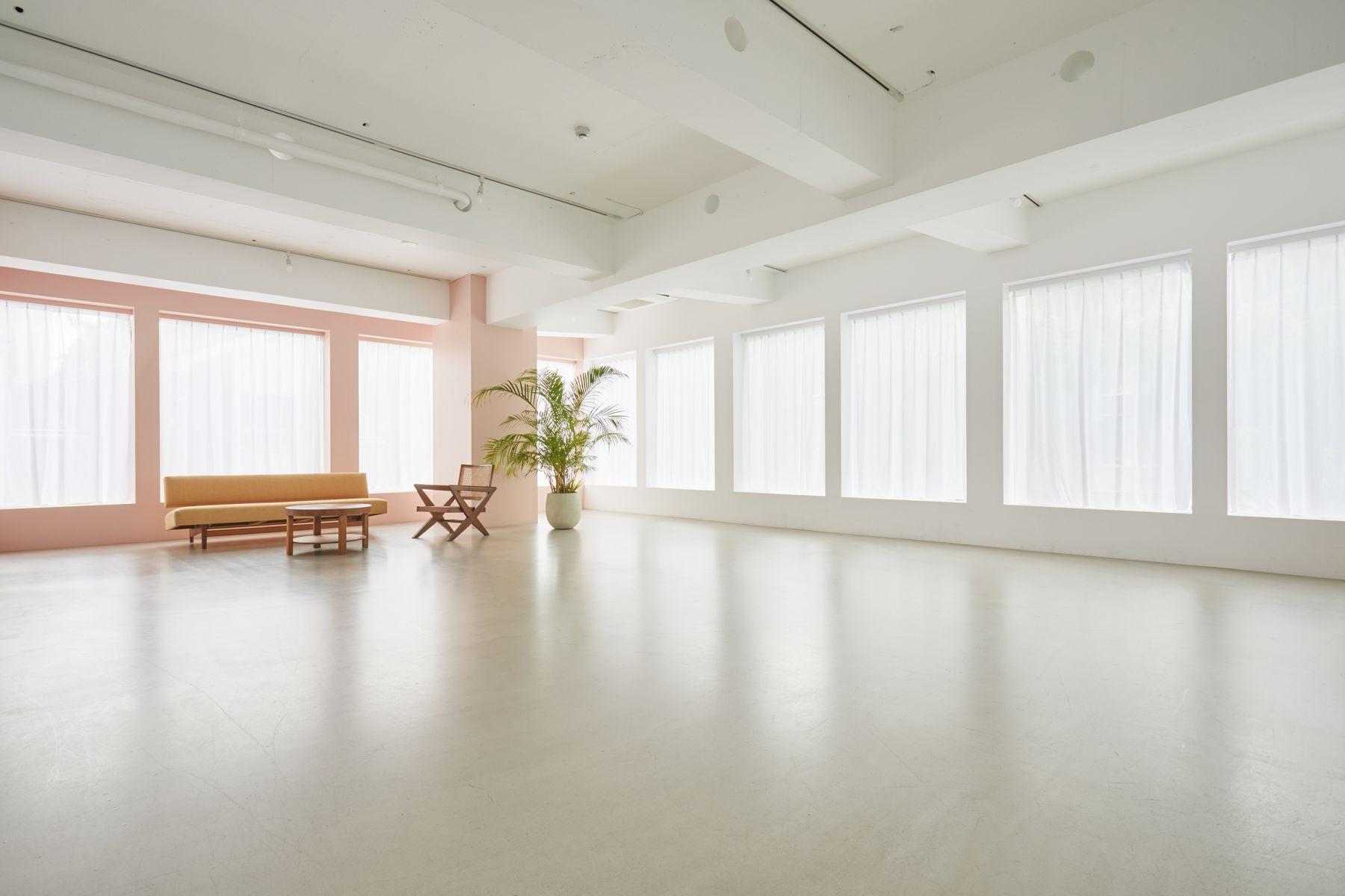 Haku Studio / W光が差し込む大きな窓