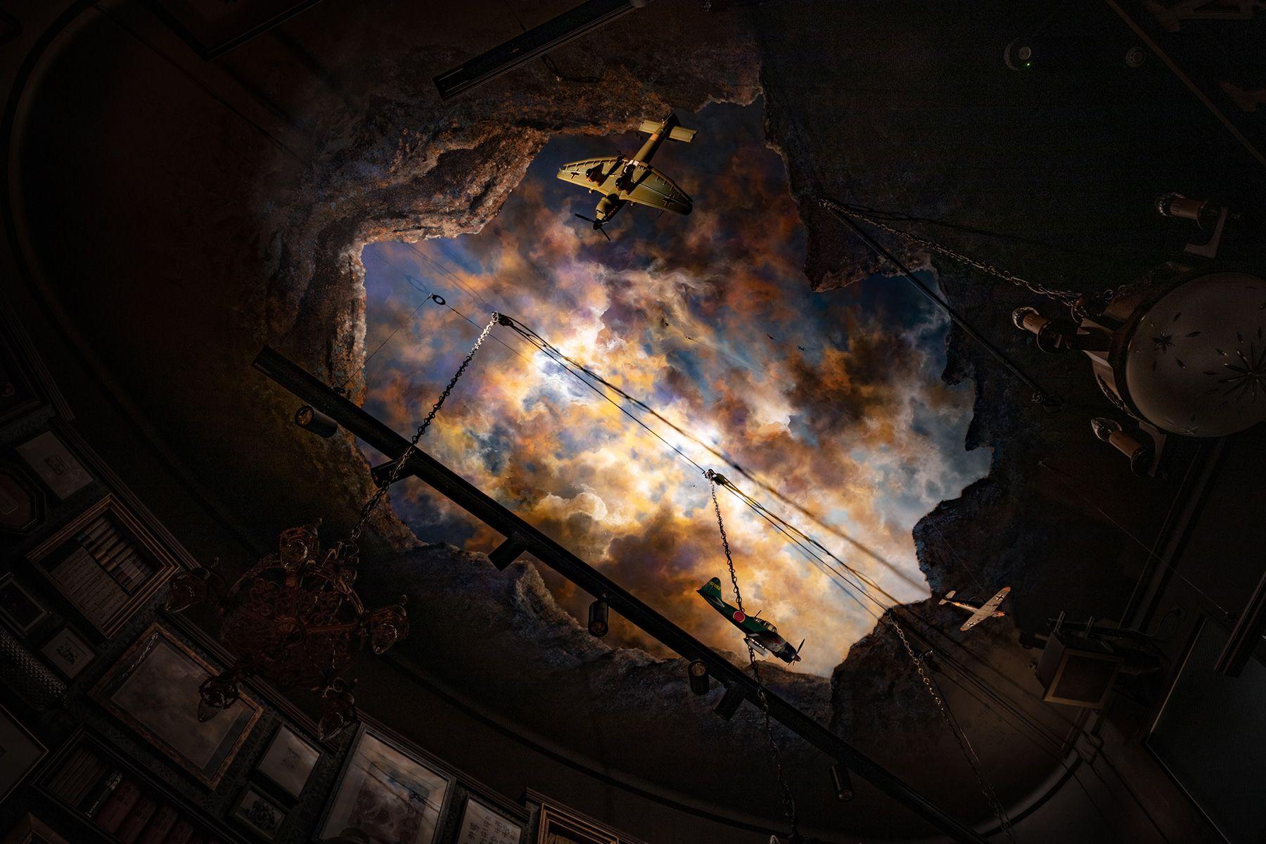 BAR-S天井のフラスコ画