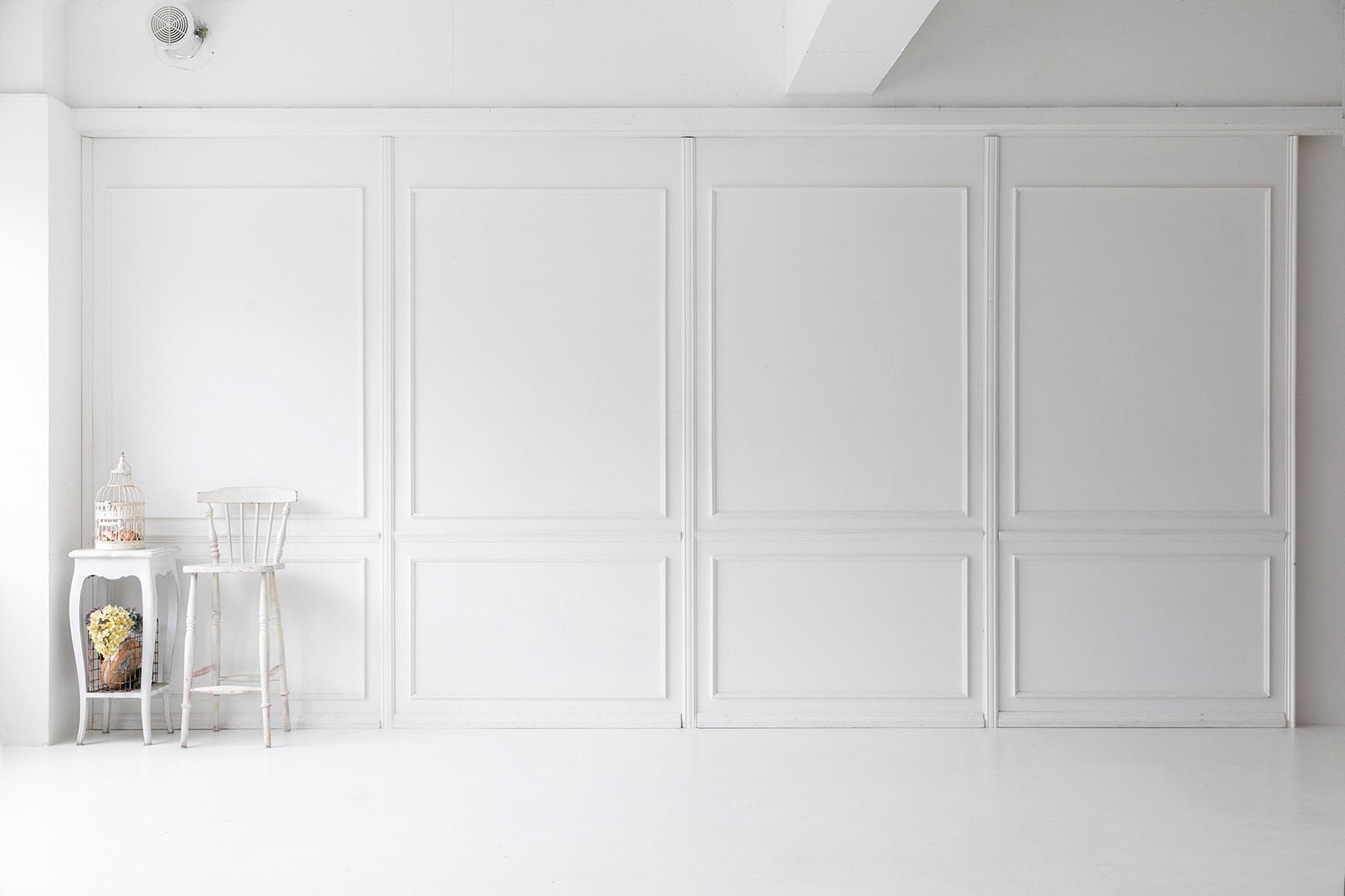 studio Mired(スタジオ ミレッド)ニュアンスのある白壁