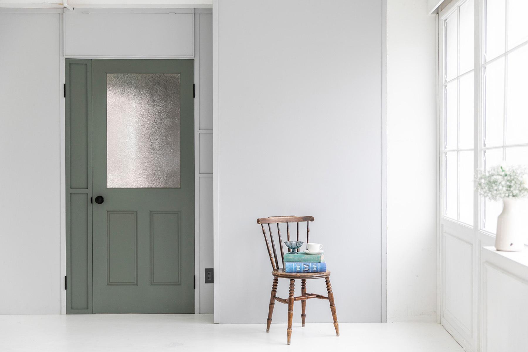 studio Mired(スタジオ ミレッド)ブルー壁
