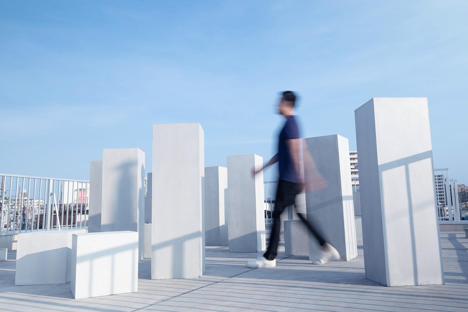 STUDIO FLYINGCAT (スタジオ フライングキャット)ヴィンテージ調の赤レンガの壁面