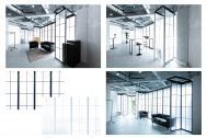 STUDIO FLYINGCAT (スタジオ フライングキャット):仕切り方で多様な空間演出も可能