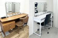 STUDIO FLYINGCAT (スタジオ フライングキャット):充実の椅子/鏡/ハンガーラック