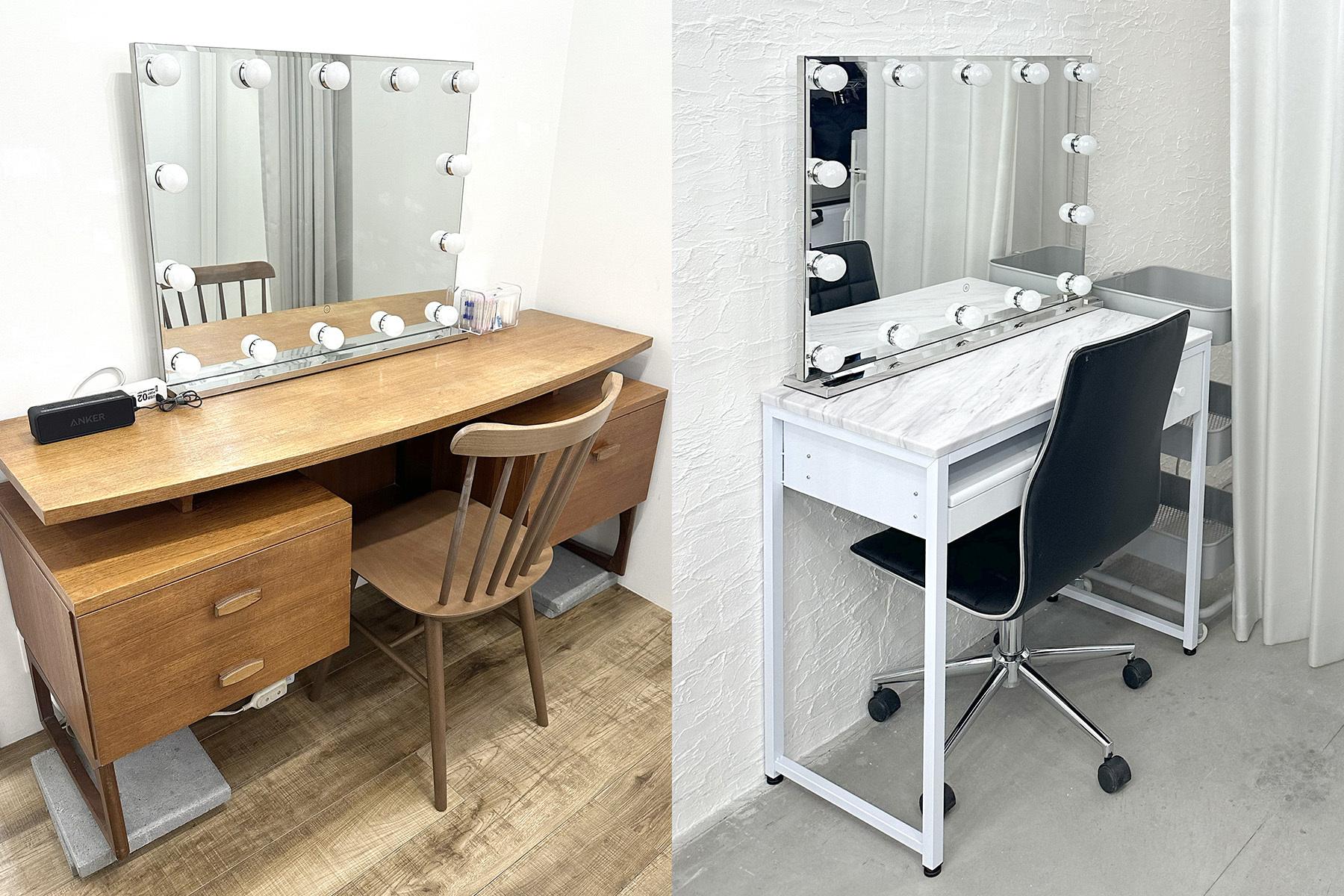 STUDIO FLYINGCAT (スタジオ フライングキャット)充実の椅子/鏡/ハンガーラック